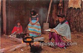 sem000089 - Seminole Indians Postcard