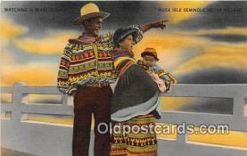 sem000091 - Seminole Indians Postcard