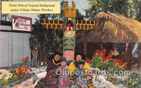 sem000092 - Seminole Indians Postcard