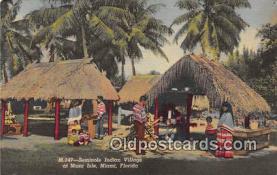 sem000095 - Seminole Indians Postcard