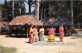 sem000101 - Seminole Indians Postcard