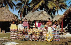 sem000104 - Seminole Indians Postcard