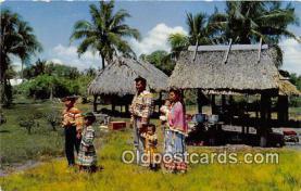 sem000105 - Seminole Indians Postcard