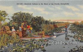 sem000108 - Seminole Indians Postcard