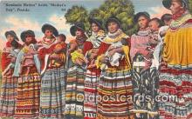sem000110 - Seminole Indians Postcard