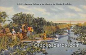sem000111 - Seminole Indians Postcard
