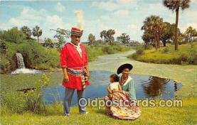 sem000112 - Seminole Indians Postcard