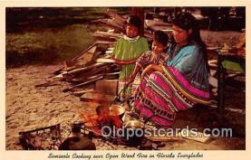 sem000117 - Seminole Indians Postcard