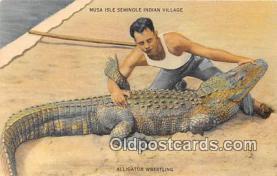 sem000118 - Seminole Indians Postcard