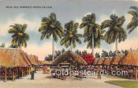 sem000120 - Seminole Indians Postcard