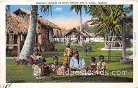 sem000123 - Seminole Indians Postcard