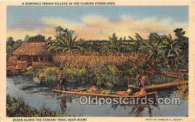sem000125 - Seminole Indians Postcard