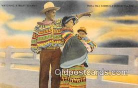 sem000129 - Seminole Indians Postcard