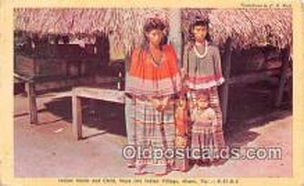 sem000130 - Seminole Indians Postcard