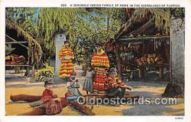 sem000134 - Seminole Indians Postcard