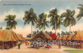sem000135 - Seminole Indians Postcard