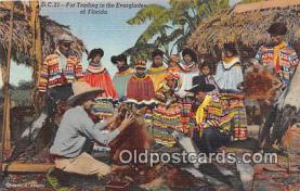 sem000137 - Seminole Indians Postcard