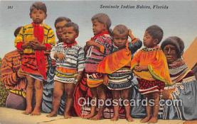 sem000139 - Seminole Indians Postcard