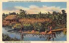 sem000141 - Seminole Indians Postcard