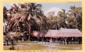 sem000142 - Seminole Indians Postcard