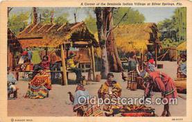sem000143 - Seminole Indians Postcard