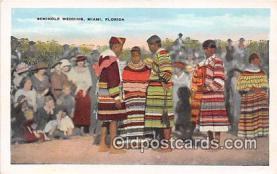 sem000144 - Seminole Indians Postcard