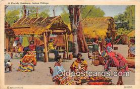 sem000145 - Seminole Indians Postcard