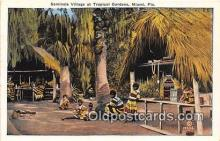 sem000148 - Seminole Indians Post card
