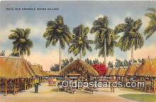 sem000151 - Seminole Indians Post card