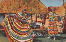 sem000159 - Seminole Indians Post card
