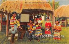 sem000162 - Seminole Indians Post card