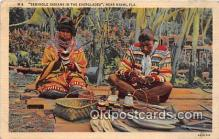 sem000165 - Seminole Indians Post card