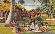 sem000168 - Seminole Indians Post card