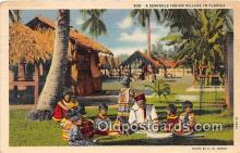 sem000171 - Seminole Indians Post card