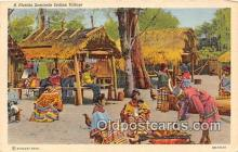sem000174 - Seminole Indians Post card