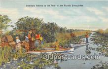 sem000177 - Seminole Indians Post card