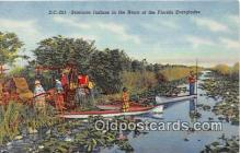 sem000178 - Seminole Indians Post card