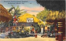 sem000181 - Seminole Indians Post card