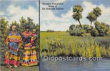 sem000183 - Seminole Indians Post card