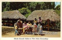 sem000184 - Seminole Indians Post card