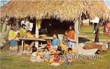 sem000185 - Seminole Indians Post card