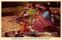 sem000188 - Seminole Indians Post card