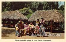 sem000191 - Seminole Indians Post card