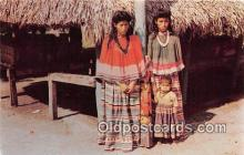 sem000192 - Seminole Indians Post card