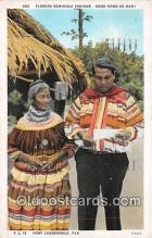 sem000199 - Seminole Indians Post card