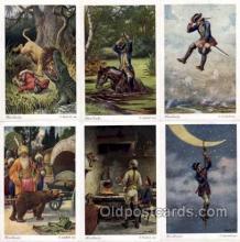 set153 - Artist Herrfurth set of 6 postcards