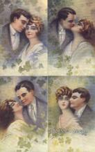 set200 - G. Gavre Postcards 4 Card Set Series 889 Old Vintage Antique