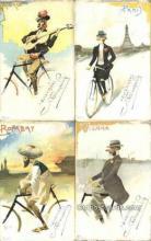 set244 - 4 Card Set,  Not sure if complete set.  Postcard Old Vintage Antique