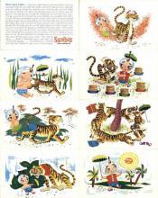 set270 - Sambos Restaurant 8 PostCard Set Postcard Old Vintage Antique