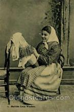 sew001028 - Sewing, Knitting, Postcard Postcards